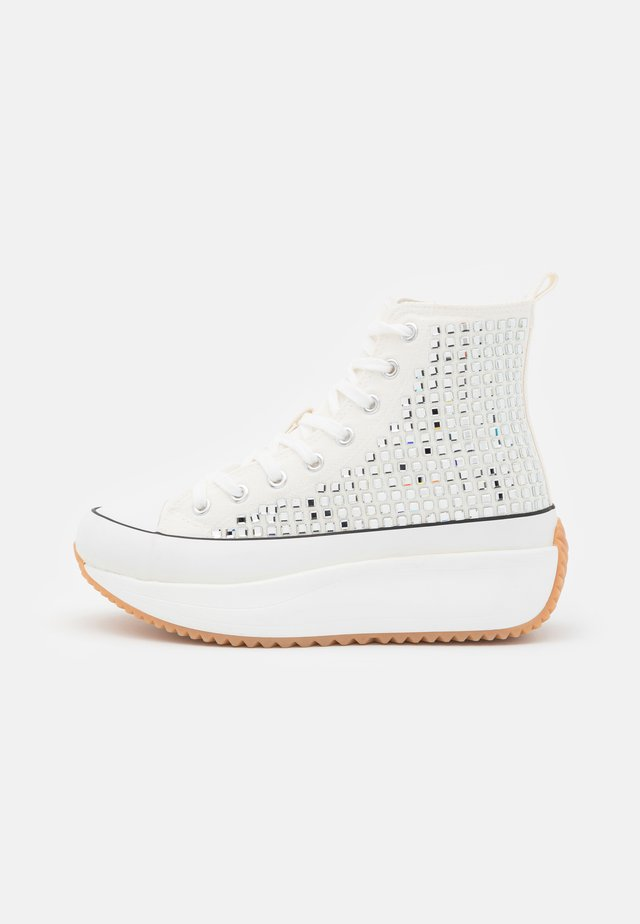 WINONA - Sneakers hoog - white/multicolor