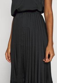 Vila - VIMOON MIDI SKIRT FULL - A-line skirt - black - 5