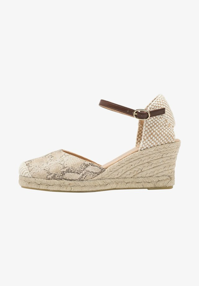 Sandales à plateforme - 917