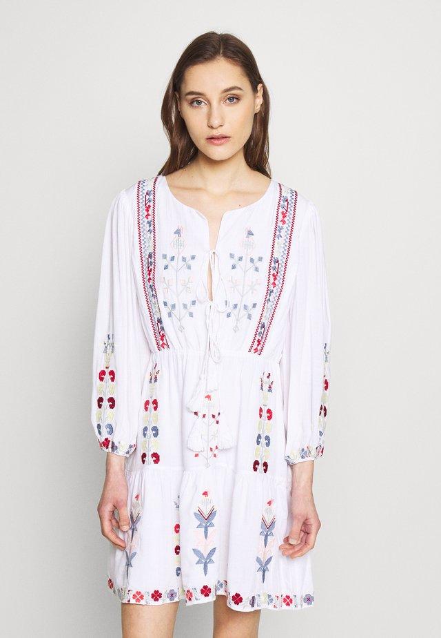 ELENA DRESS - Day dress - white