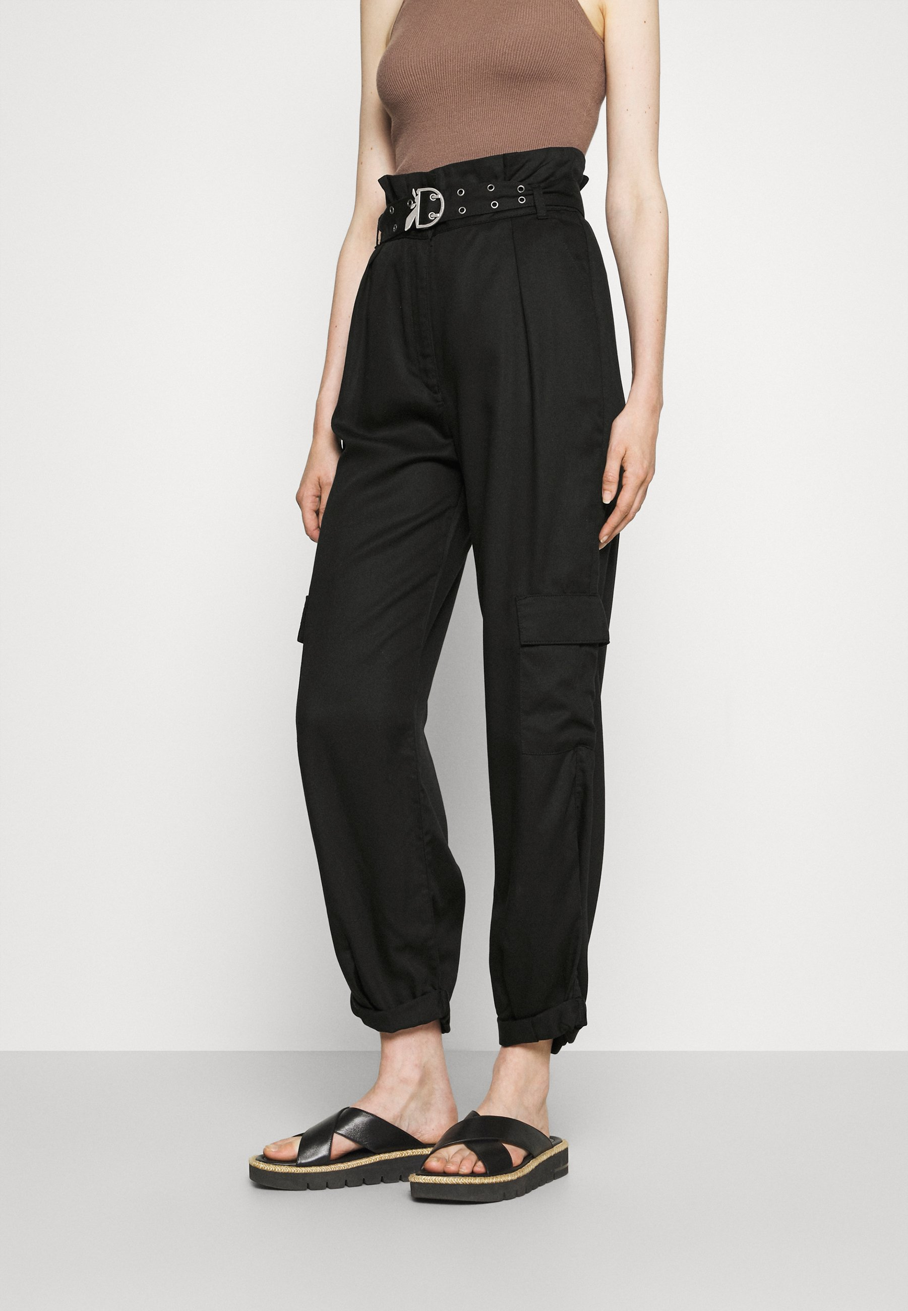 Women PANTALONI TROUSERS - Cargo trousers