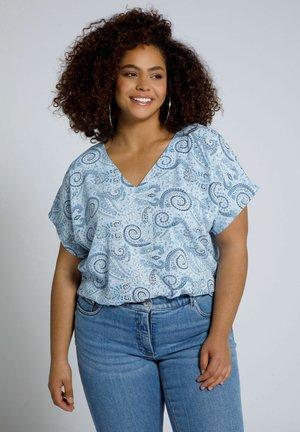 Print T-shirt - lavendel