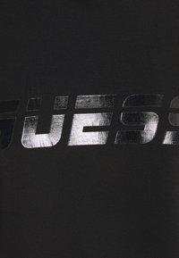 Guess - HOODED - Sweatshirt - jet black - 2
