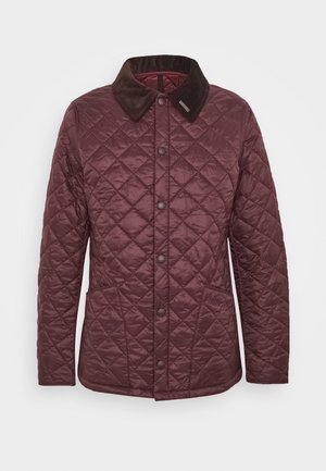 WINTER HERITAGE LIDDESDALE QUILT - Light jacket - aubergine