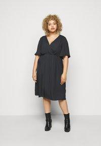 Zizzi - MCLARA DRESS - Day dress - black - 0