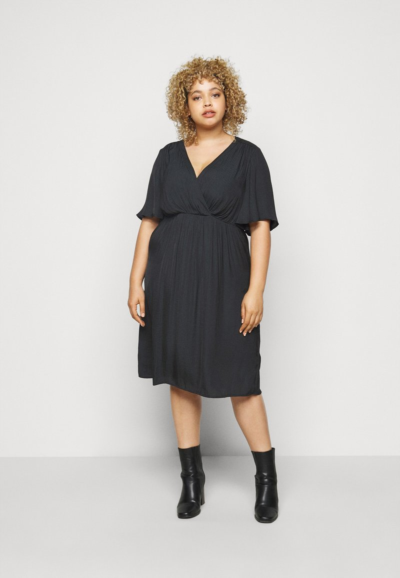 Zizzi - MCLARA DRESS - Day dress - black