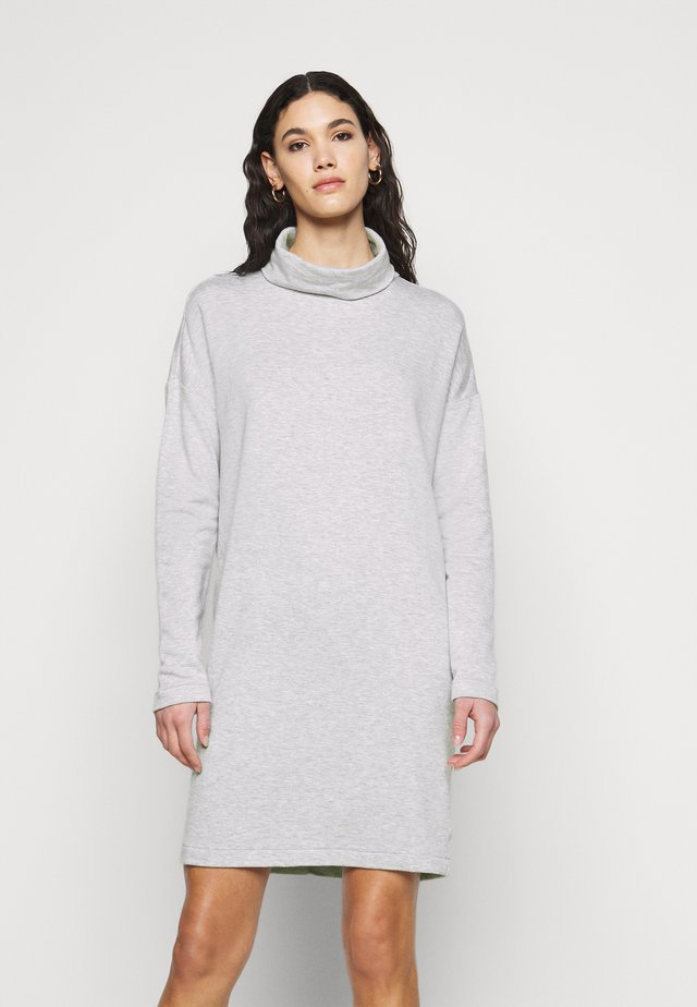 COWL NECK DRESS  - Denní šaty - heather grey