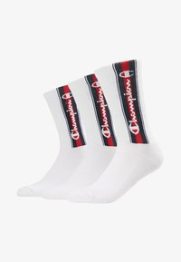 Champion - EURO TAPE CREW SOCKS 3 PACK - Sports socks - white - 1