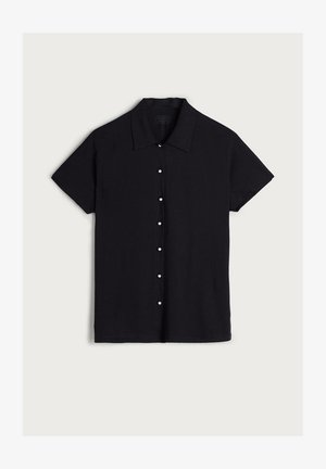 AUS SUPIMA®ULTRAFRESH - Polo shirt - Nero