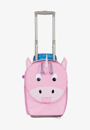 KINDERKOFFER EINHORN - Wheeled suitcase - pink
