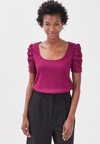 Cache Cache - T-shirt print - violet foncé - 3