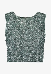 Lace & Beads Tall - PICASSO - Top - teal - 3
