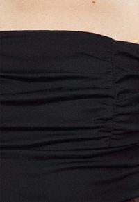 Fashion Union Petite - DEIDRE BODYSUIT - T-shirts med print - black - 5
