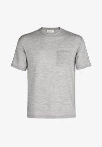 Icebreaker - T-shirt basic - blizzard hthr - 5