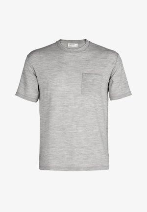 T-shirt basic - blizzard hthr