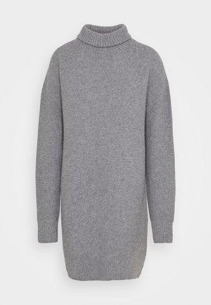 DIDINA - Gebreide jurk - grey