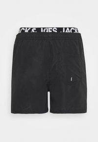 Jack & Jones - JJIBALI LOGO - Plavky - black - 5