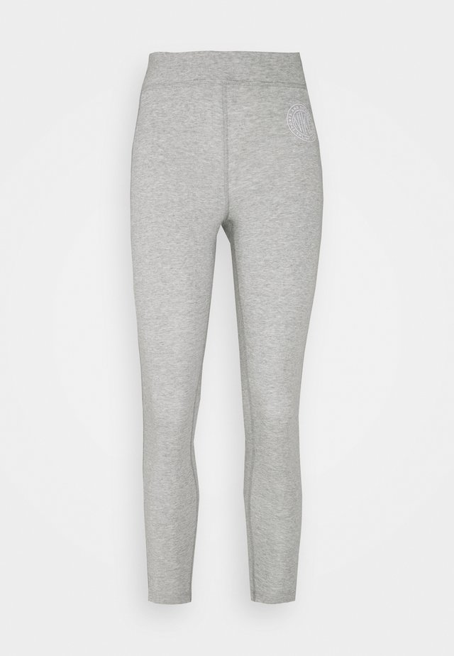 FEMME 7/8 - Legging - grey heather/matte silver/white