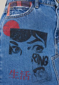 Desigual - FAL COMIC - A-Linien-Rock - denim medium wash - 6