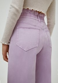 PULL&BEAR - PAPERBAG - Relaxed fit jeans - purple - 5