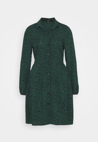 Mavi - LONG SLEEVE DRESS - Skjortekjole - posy green - 4