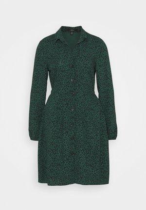 LONG SLEEVE DRESS - Shirt dress - posy green