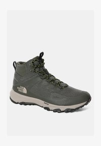 The North Face - M ULTRA FASTPACK IV MID FUTURELIGHT - Hiking shoes - new taupe green/tnf black - 0
