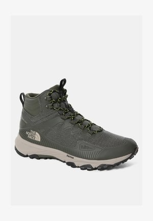 M ULTRA FASTPACK IV MID FUTURELIGHT - Hiking shoes - new taupe green/tnf black