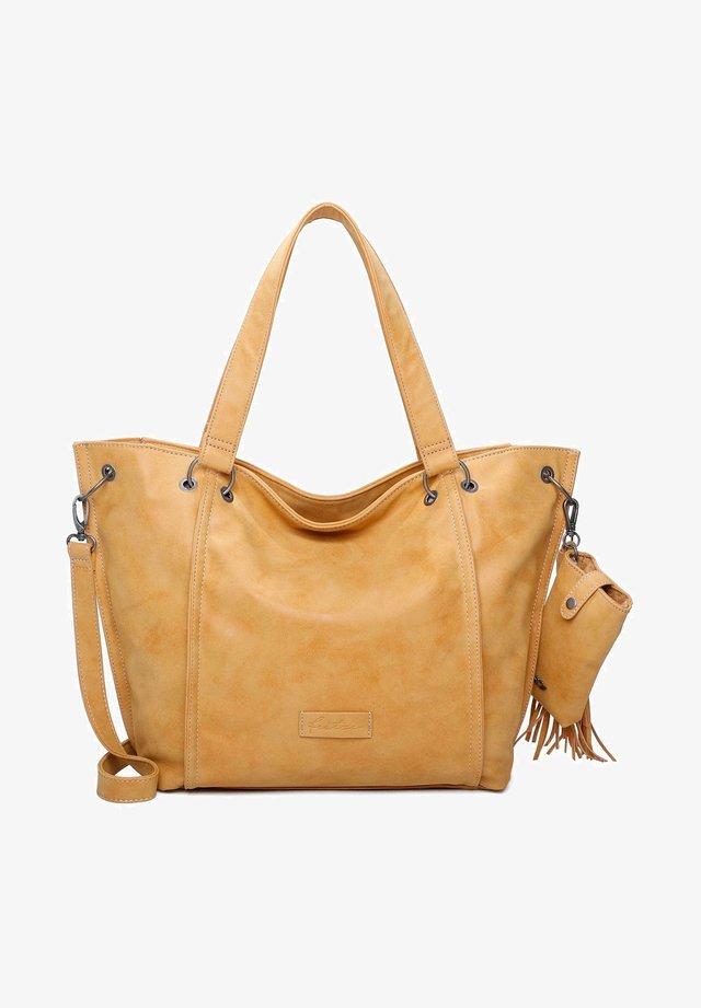 VINTAG - Shopping Bag - honey mustard