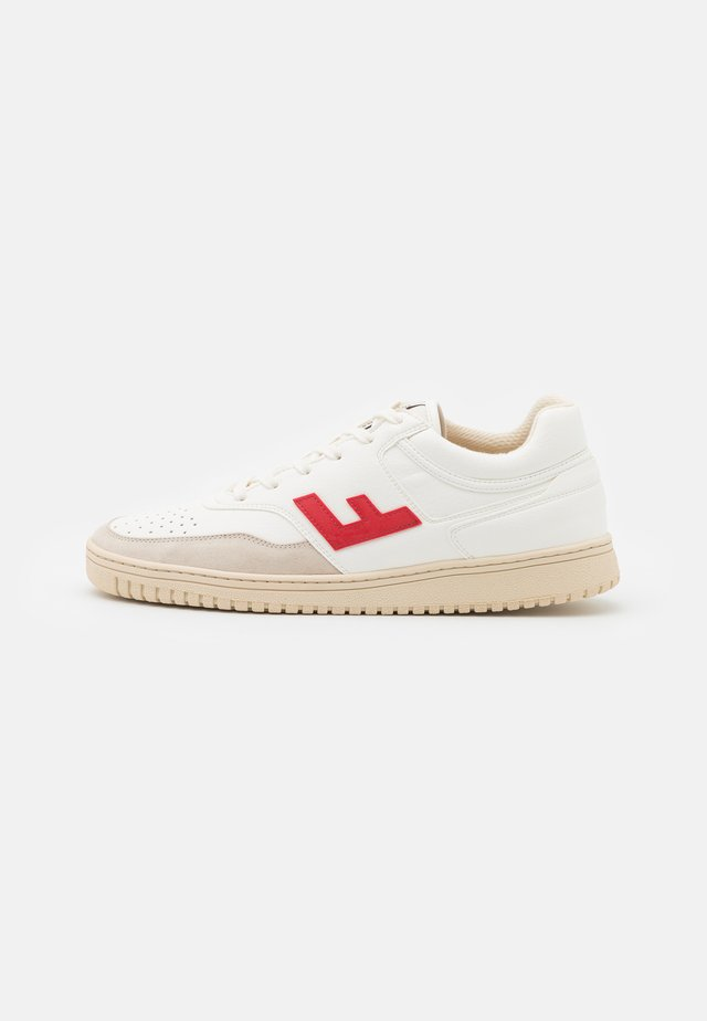RETRO 90'S UNISEX - Sneakers laag - white/rouge