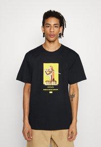 HUF - BRIDE  - Print T-shirt - black - 0