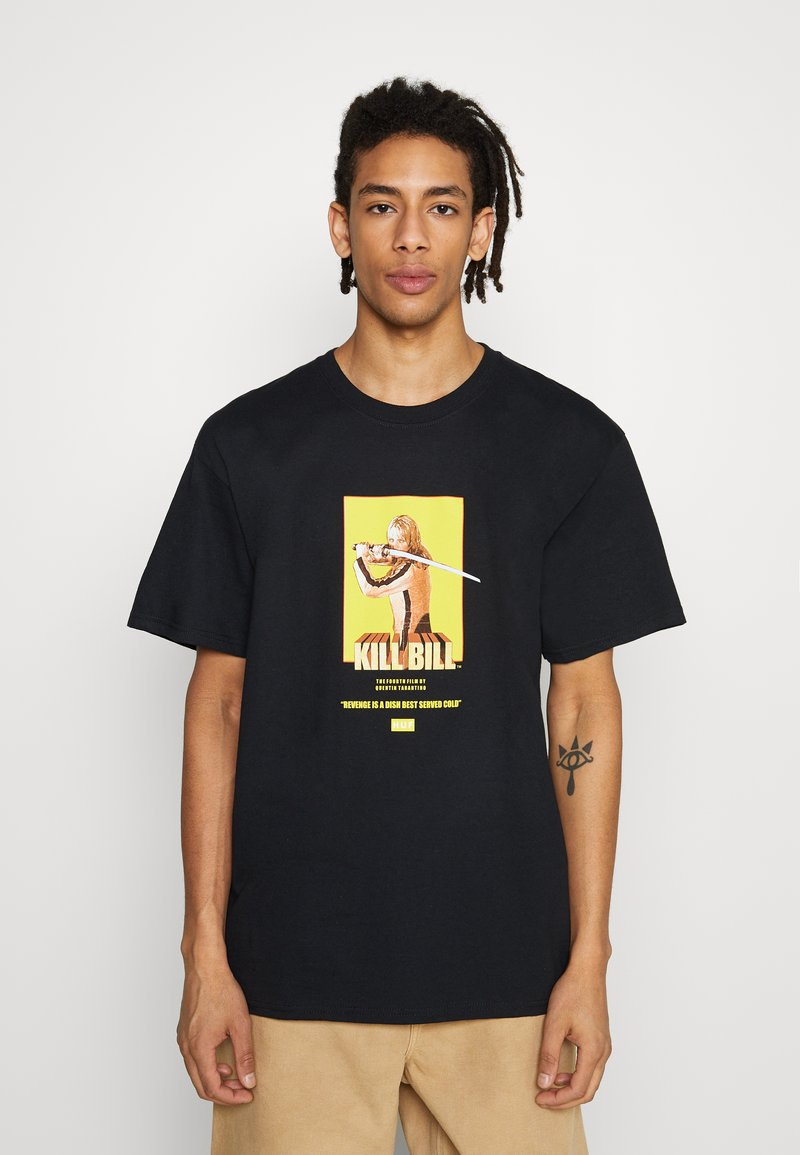HUF - BRIDE  - Print T-shirt - black