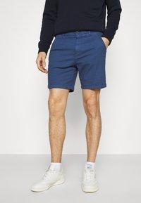 Selected Homme - SLHSTORM FLEX  - Shorts - federal blue/mix navy blazer - 0