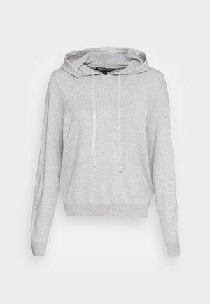 VMEDITH HOOD - Džemperis ar kapuci - light grey melange