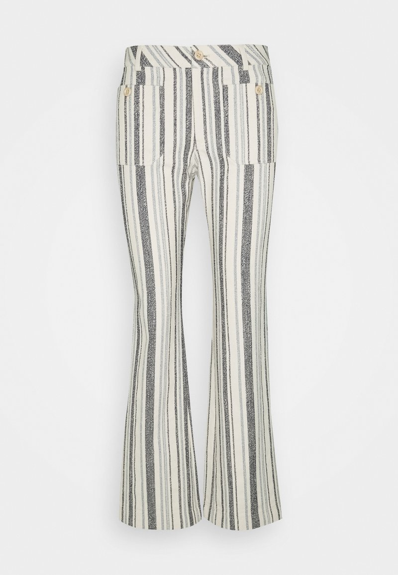 See by Chloé - Trousers - white/blue