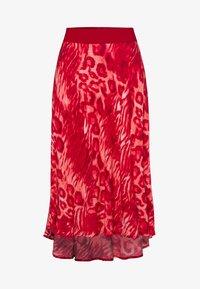 Marc Aurel - A-line skirt - red varied - 4
