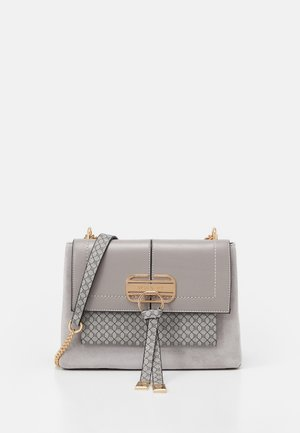 TASSEL LOCK  - Handbag - grey