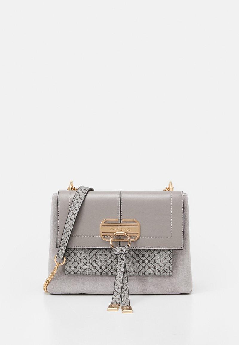 River Island - TASSEL LOCK  - Handbag - grey