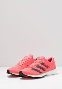 adidas Performance - ADIZERO ADIOS 5 - Competition running shoes - signal pink/core black/copper metallic - 2
