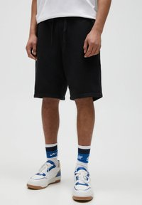 PULL&BEAR - Shorts - black - 0