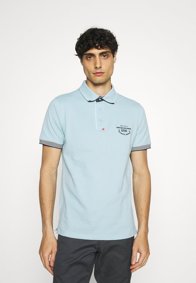CHANDLER - Polo - blue wave