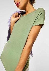 Street One - Basic T-shirt - grün - 3