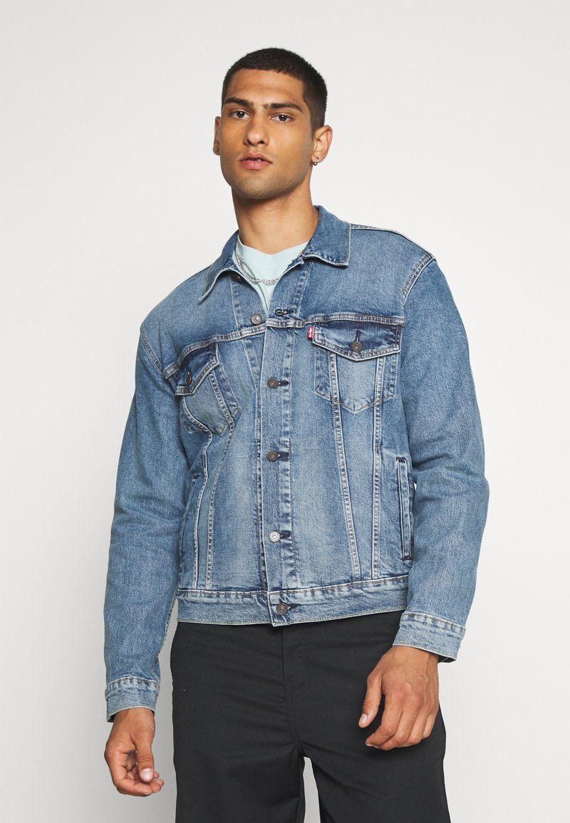 Levi's® - THE TRUCKER JACKET UNISEX - Giacca di jeans - triad trucker