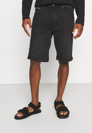 BERM SUPERLIGHT - Denim shorts - charcoal grey