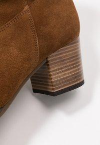 Gabor Comfort - Cowboy/biker ankle boot - cognac - 2