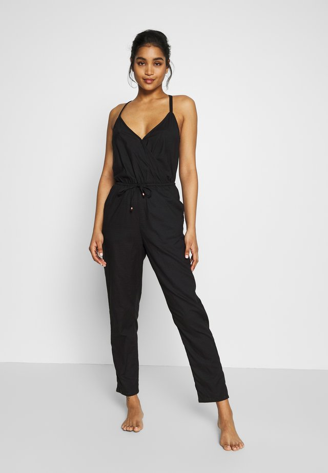 GEORGIA JUMPSUIT - Strandaccessories - black out