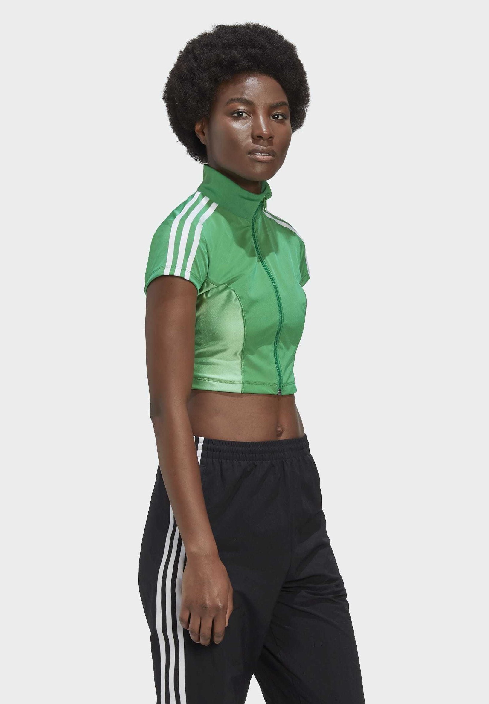 adidas Originals PAOLINA RUSSO - Long sleeved top - green Ni9Zq