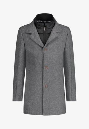 Classic coat - dark-anthracite plain
