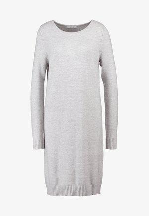 VIRIL DRESS - Robe pull - light grey melange
