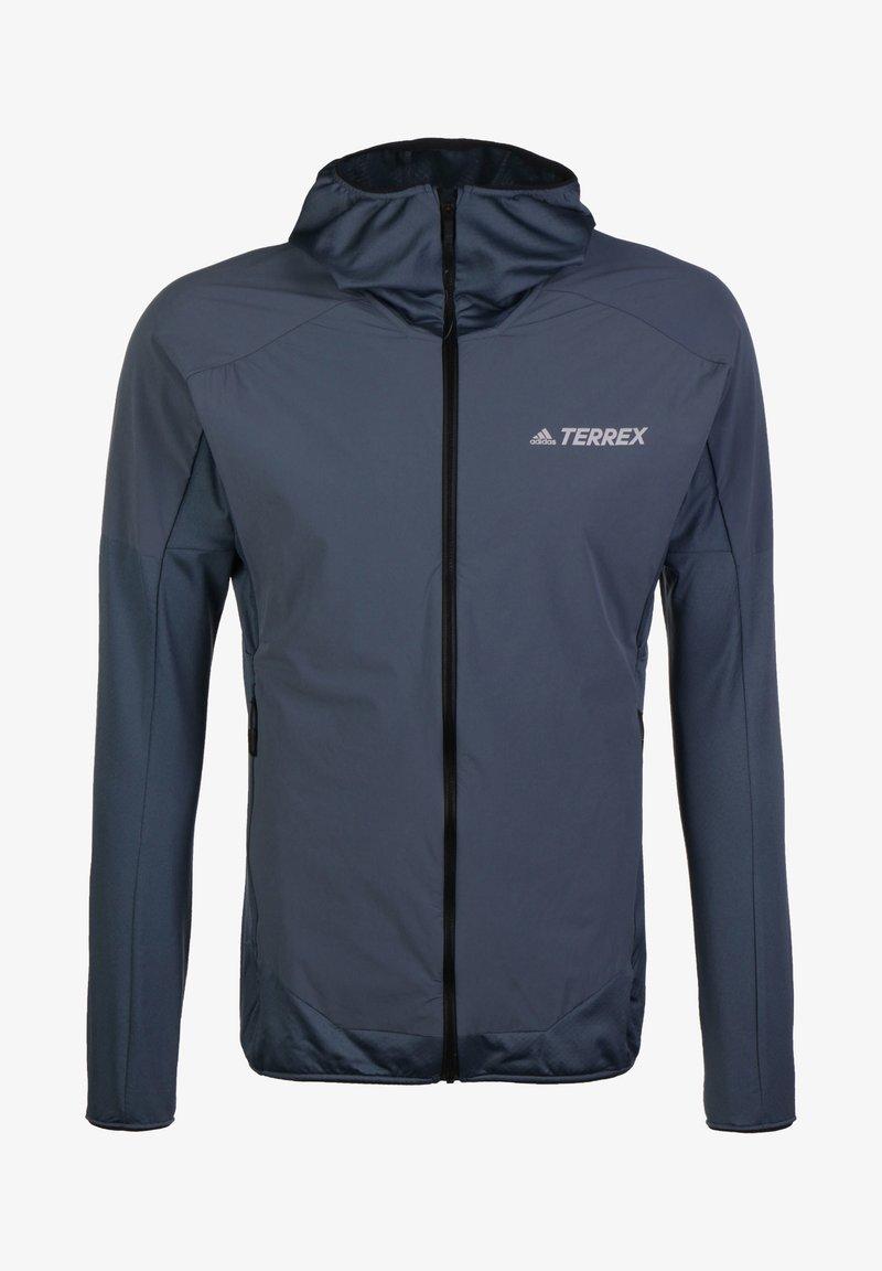 adidas Performance - ADIDAS PERFORMANCE TERREX SKYCLIMB FLEECEJACKE HERREN - Kurtka Outdoor - legacy blue